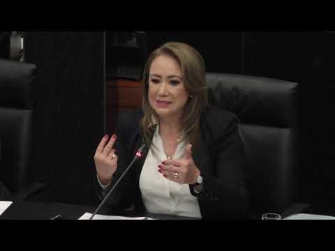 Respuesta a la senadora Xóchitl Gálvez Ruiz, por parte de Yasmín Esquivel Mossa, compareciente SCJN