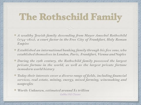 World's Richest Families - By Lakshman Maaheshwary