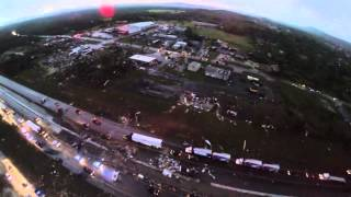 Arkansas Tornado Damage Aerial Video 4-27-2014 thumbnail