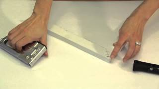 How To Reinforce Wood Picture Frame Corners : Picture Frame Crafts