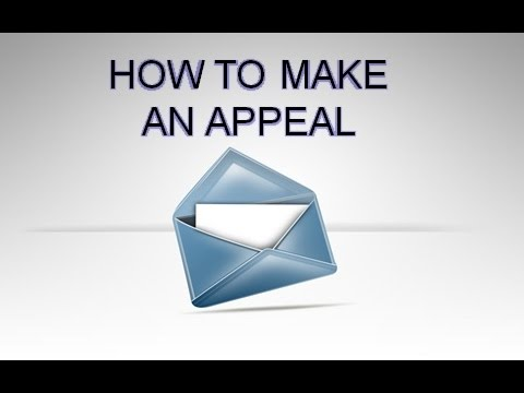 How to Make an Appeal 8-16-15 PM