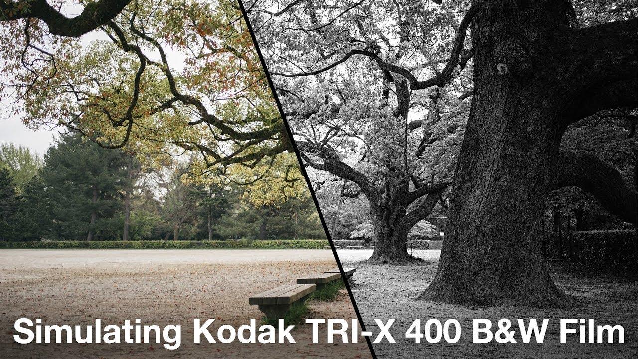 Simulating Kodak Tri-X Black & White Film — Nick Bedford