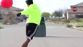 prank videos funny scary 2017  part 7 - amazing moments football skills 2017