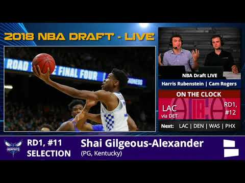 Los Angeles Clippers Trade For Shai Gilgeous-Alexander With Pick #11 In 1st Round Of 2018 NBA Draft