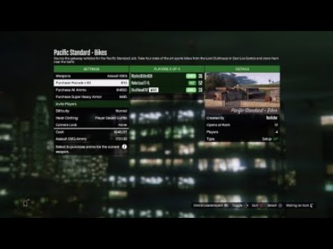 GTA 5 Pacific Standard Job I Got Gold