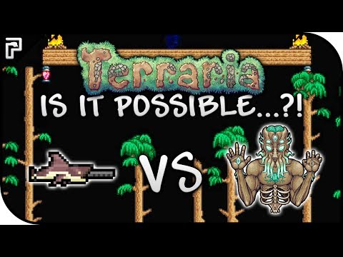 ❓ IS IT POSSIBLE...?! | STILL AN EPIC WEAPON! | Megashark VS Moon Lord | Terraria 1.3.5 Boss Battles