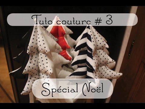 Tuto Couture 3 Sapin En Tissu Spécial Noël
