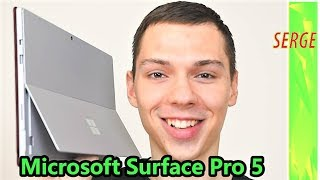 Microsoft Surface Pro 5 2017 Review