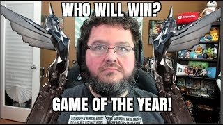 Who Will WIN Game of the Year? Game Awards 2018!