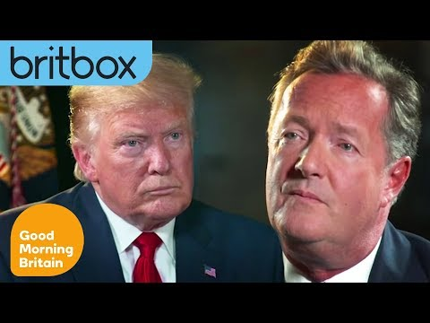 World Exclusive Interview with Donald Trump | Good Morning Britain on BritBox