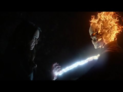 Ghost Rider Phil Coulson vs Aida-Marvel's Agents of Shield S4E22