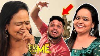 Kala Master's Extreme Fun Bharatanatyam Task to Vj Nikki – Kiss Me😘 Hug Me🤗 Slap Me👋 | KHS