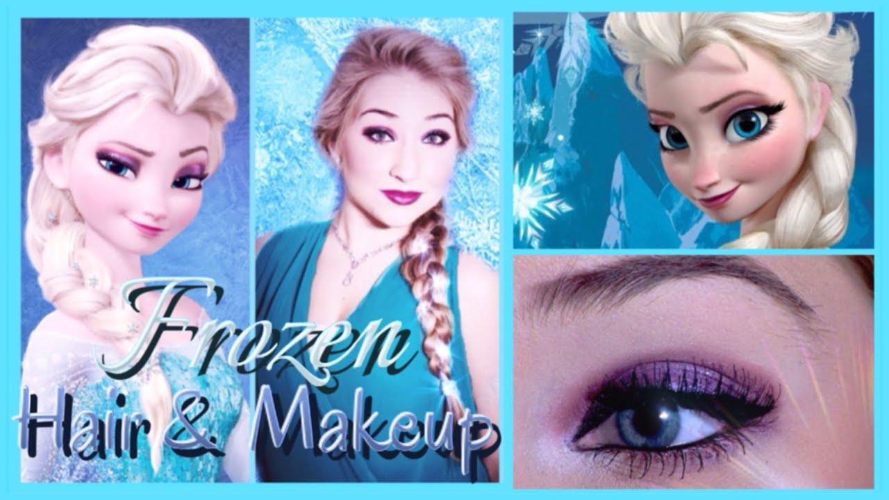 disney's frozen makeup and hair