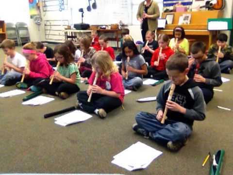 Ode To Joy - 4th grader recorders - J-town