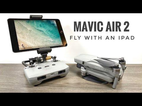 Fly The Dji Mavic Air 2 With An Ipad Youtube