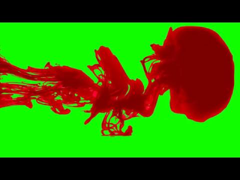 FREE HD Green Screen BLOOD SPILL - 3