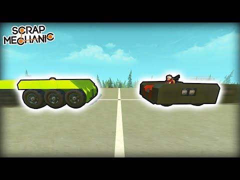 Platform Sumo Robot Challenge! (Scrap Mechanic Multiplayer Monday)