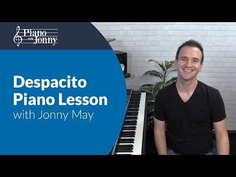 Despacito - Jonny May Latin Arrangement [Piano Tutorial] + Sheets/MIDI