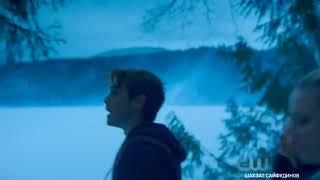 Девушка уходит под лед-попытка самоубийства:Шерил Блоссом/Ривердэйл/Ривердейл!
