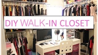 Diy Walk-in Closet