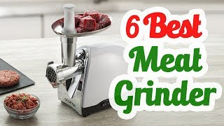 Best Meat Grinder 2018 - Top 6 Meat Grinder List!