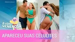 Paolla Oliveira fica furiosa após vazamento de fotos dela de maiô
