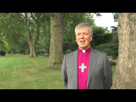 A new bishop for Guildford - Rt Revd Andrew Watson announced