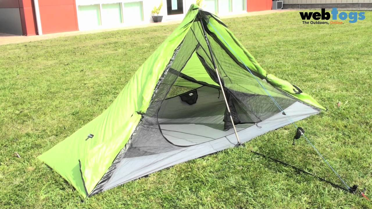 Nemo Meta 1P Trekking pole tent - Forget the poles with this lightweight spacious 1 person tent. - YouTube & Nemo Meta 1P Trekking pole tent - Forget the poles with this ...