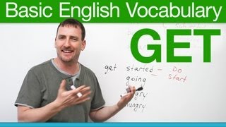Basic English Vocabulary - GET