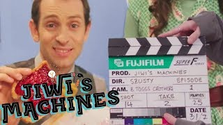 Filming the Breakfast Machine - Jiwi's Machines - BEHIND THE SCENES