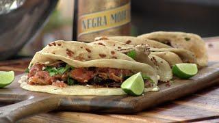 Cajun Carnitas & Blackened Pork Taco Recipe