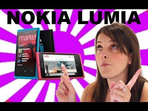 Nokia Lumia 800 Windows Phone 7.5 mango en español #Videorama