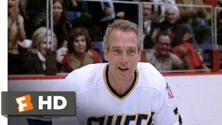 Slap Shot (5/10) Movie CLIP - Reg Taunts the Goalie (1977) HD