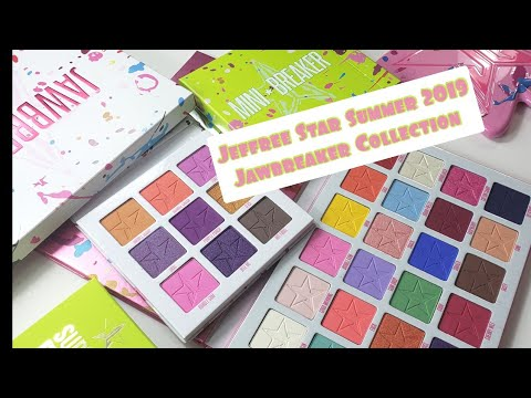 Jawbreaker Collection Jeffree Star Unboxing and Swatches thumbnail