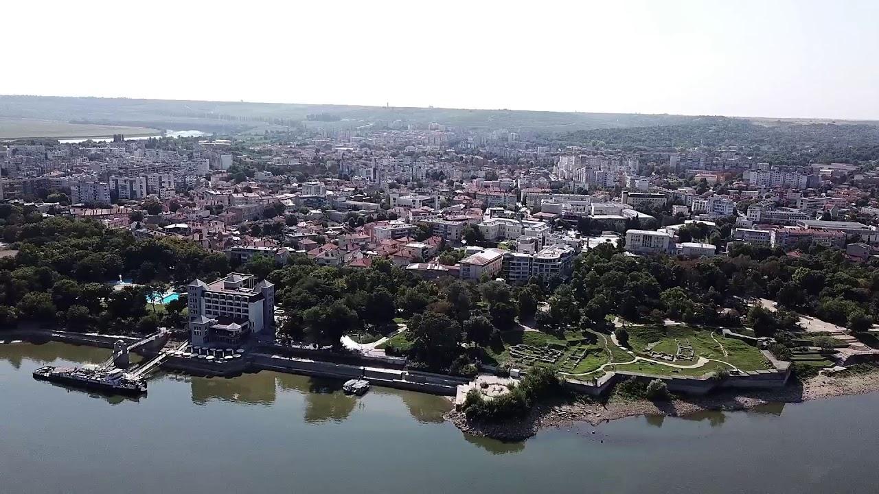 Полет с дрон над Силистра! Вижте как изглежда този красив Дунавски град от птичи поглед!