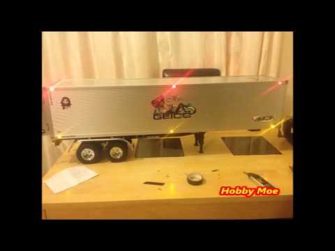 Rc Tamiya Trailer 56302 Semi Trailer Led Light Set Up