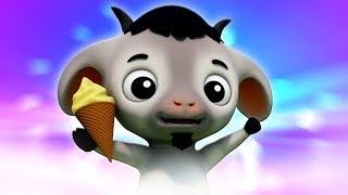 ребенок коза да мама | мультфильмы для детей | детская песня | Baby Goat | Farmees Russia