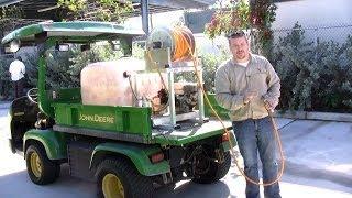 Sprayer Calibration for Fertilization and Plant Protectants