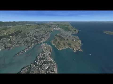 maps virtual NZ road trip - Cape Reinga to Bluff  via SH1 - 2091km - photoreal fsx