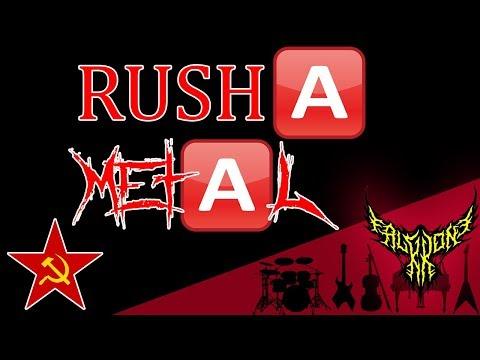 RUSH 🅰, but it's 【Intense Symphonic Metal Cover】