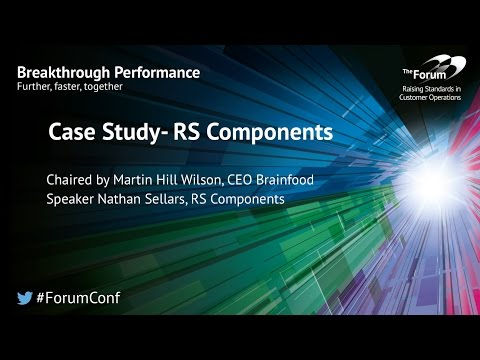 Case Studies: Customer Insight - RS Components