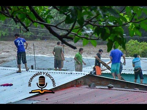 Centro América sucumbe por la tormenta tropical Amanda.