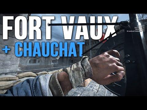 FORT VAUX + CHAUCHAT w BATTLEFIELD 1! - Super Mapa i Piekielna Broń!