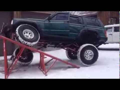 Redneck Fab Jim's 4 link on Jeep Cherokee XJ