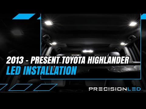 Toyota Highlander LED Interior