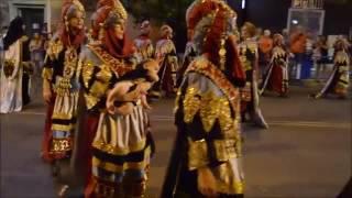 Праздник Мавры и Христиане. Испания, Аликанте. Moros y Cristianos