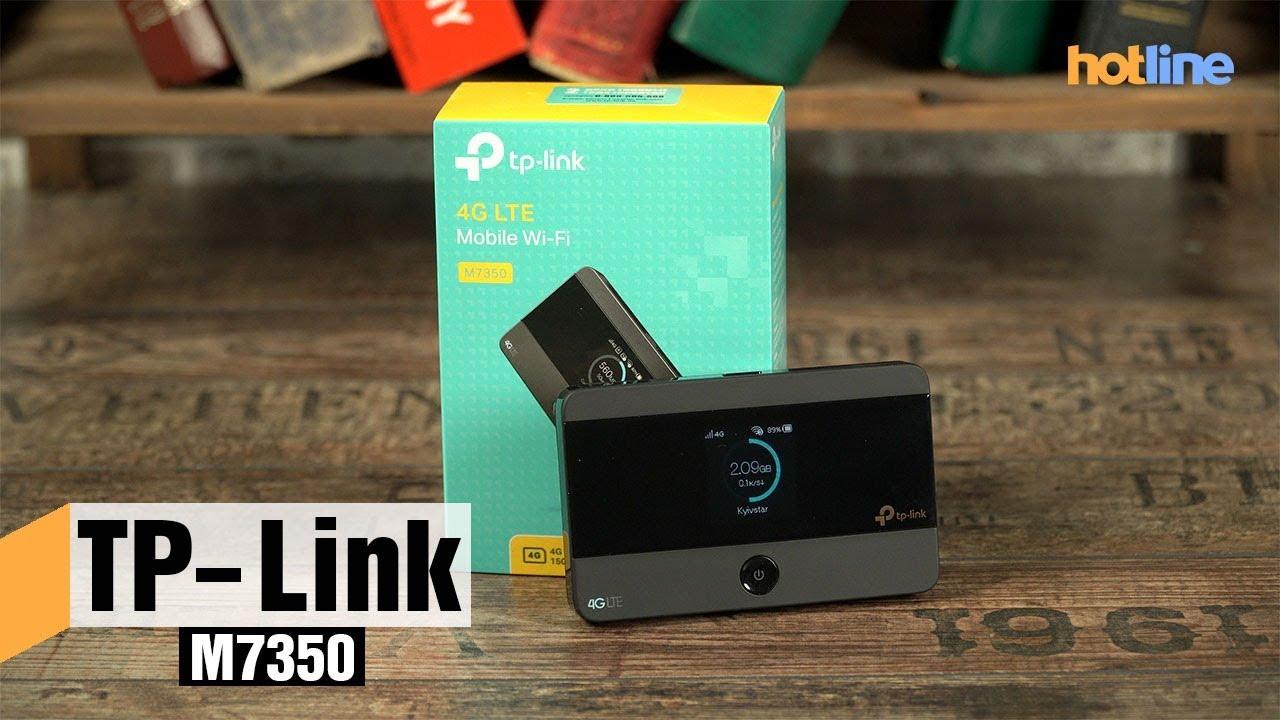 TP-Link M7350 — для тех, кто любит делиться интернетом