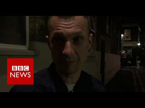 London attack: 'They were running and stabbing everyone' - BBC News