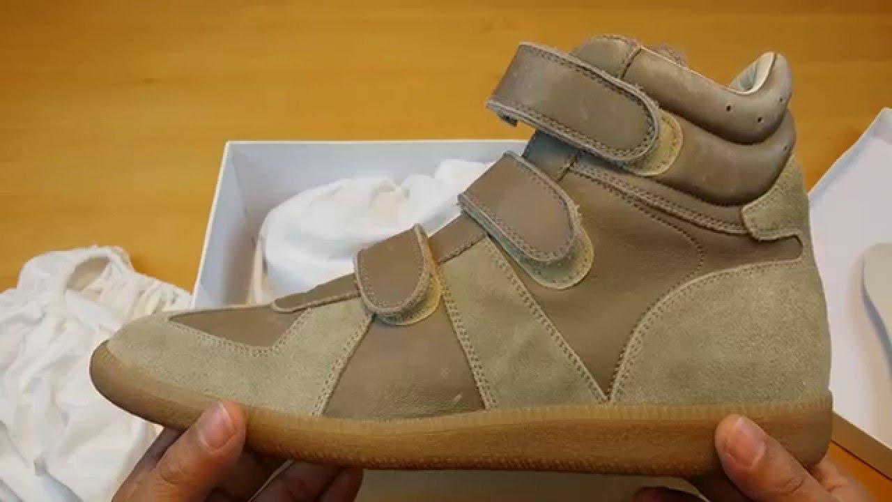 margiela strap sneakers