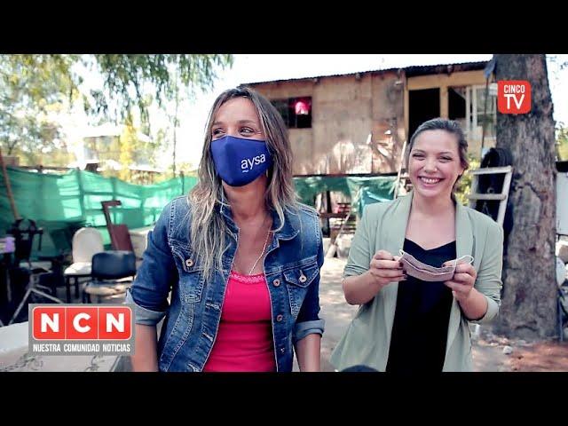CINCO TV - Habilitaron una obra de agua potable en el Barrio Parque Guazu-Nambi